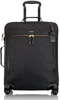 Tumi Black Voyageur Super Leger Continental Four-Wheeled Carry-On