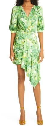 Ronny Kobo Monica Asymmetrical Short Dress