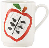 Kate Spade Illustrated Apple Mug