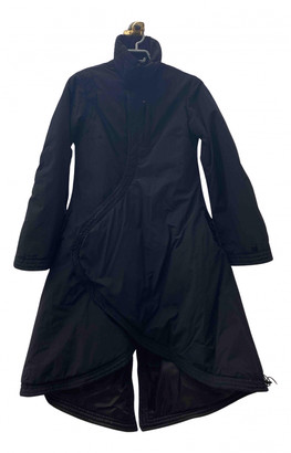 MHI Black Polyester Coats