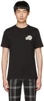 Moncler Black Double Logo Patch T-shirt