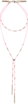 Accessorize Delicate Layered Station Lariat Necklace