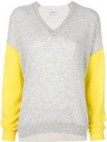 Sansovino 6 contrast sleeve jumper