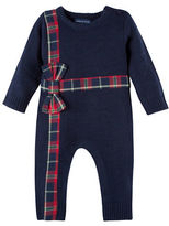 Andy & Evan Baby Girls Bow Coverall