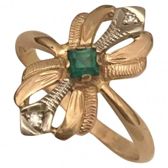 Non Signé / Unsigned Non Signe / Unsigned Art Deco Gold Yellow gold Rings