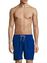 Brooks Brothers Solid Montauk Swim Shorts