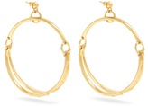 Chloé Nile double-hoop earrings
