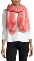 Lord & Taylor Fraas Linen Blend Scarf