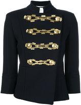 Pierre Balmain cropped sleeves jacket - women - Cotton - 40