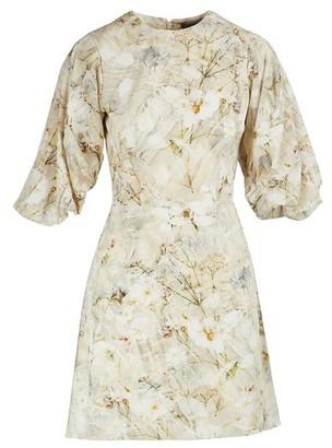 Alexander McQueen Silk mini dress