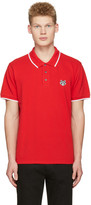 Kenzo Red Tiger Patch Polo