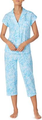 Lauren Ralph Lauren Dolman Sleeve Capri Pajamas