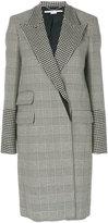 Stella McCartney houndstooth coat - women - Cotton/Polyamide/Spandex/Elastane/Wool - 40