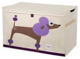 3 Sprouts Collapsible Storage Toy Chest - Poodle