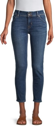 Hudson Collin Skinny Cropped Jeans