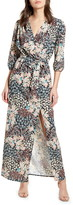 Never Fully Dressed Gabriella Floral Print Long Sleeve Maxi Dress
