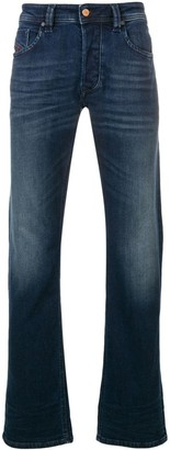 Diesel washed slim-fit jeans