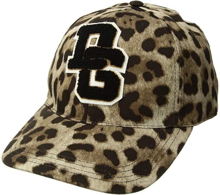 Dolce & Gabbana Leopard Baseball Cap Baseball Caps