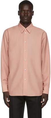 Jil Sander Pink Wool and Mohair Shirt