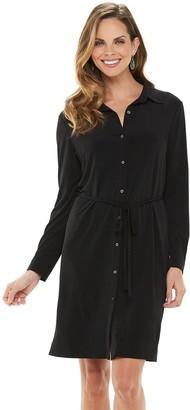 Chaps Women's Shirt Dress