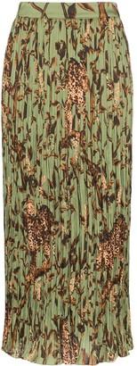 Johanna Ortiz Jo the Act of Nature pleated skirt