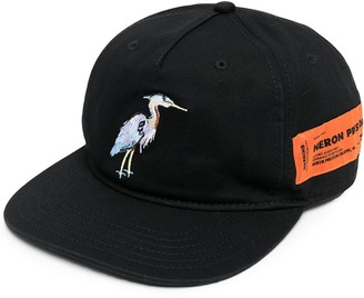Heron Preston Logo-Patch Cap