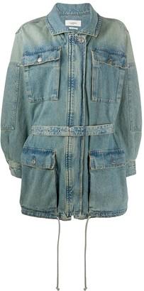 Etoile Isabel Marant Guila denim belted jacket