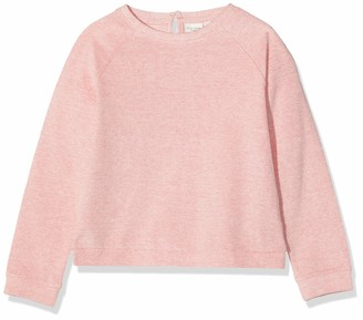 Name It Girl's Nkfveni Ls Short Top T Sweatshirt