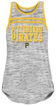 5th & Ocean Pittsburgh Pirates Women's Space Dye Tank