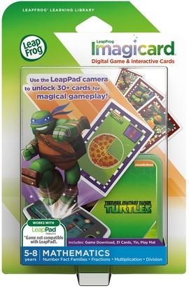 Leapfrog Imagicard Teenage Mutant Ninja Turtles Learning Game