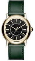 Marc Jacobs Women's 'Courtney' Leather Strap Watch, 34Mm