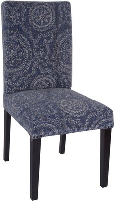 Dasch Faded Indigo Circle Dining Chair