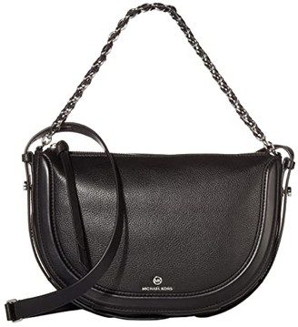 MICHAEL Michael Kors Jagger Small Messenger (Black) Handbags
