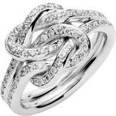 Jan Logan 18ct Diamond Love Knot Ring