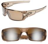 Oakley Men's 'Crankshaft' 60Mm Polarized Sunglasses - Brown Smoke