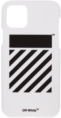 Off-White SSENSE Exclusive White Diag iPhone 11 Pro Case