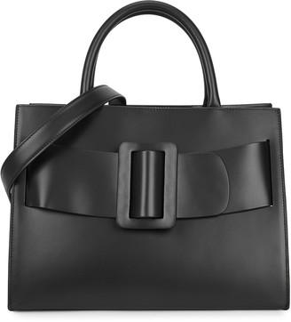 Boyy Bobby black leather top handle bag