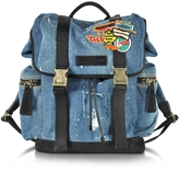 DSQUARED2 Denim Patch Backpack