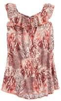 Maaji Starfish Wishes Ruffle Cover-Up Dress