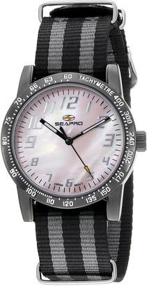 Seapro Women's SP5211NBK Analog Display Quartz Two-Tone Watch
