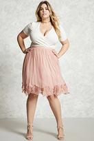 Forever 21 FOREVER 21+ Plus Size Tulle Skirt
