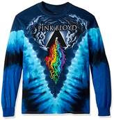 Liquid Blue Men's Pink Floyd Prism River Long Sleeve T-Shirt