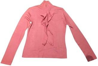 Escada Pink Wool Top for Women