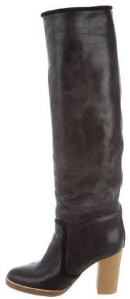 Isabel Marant Leather Knee-High Boots