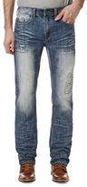 Buffalo David Bitton Six X Distressed Jeans