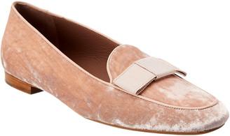 Tabitha Simmons Miny Rose Velvet Loafer