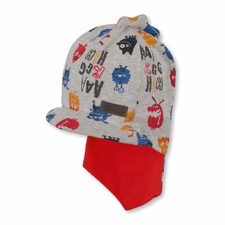 Sterntaler Boys Pirate Scarf incl. Umbrella and Neck Guard Age: ab 12-18 Months Size: 49 cm