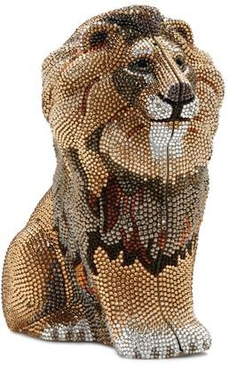 Judith Leiber Astor Lion Clutch Bag