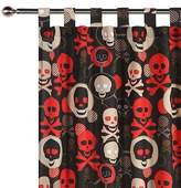 NEW Happy Kids Skull Glow in the Dark Curtain