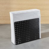 Crate & Barrel Metro Black Napkin Holder